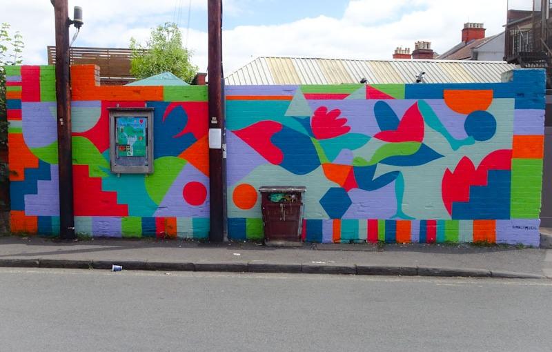 Molly Hawkins, Greville Street, Bristol, June 2021, Upfest 21