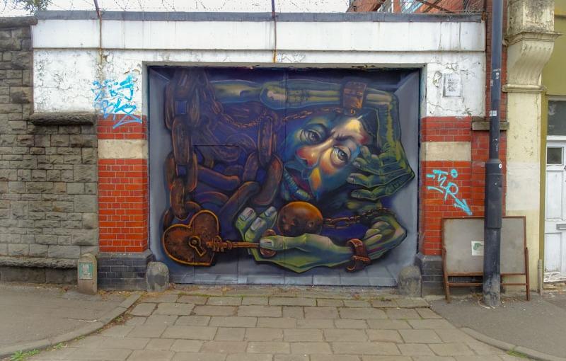 Peter Sheridan, North Street, Bristol, June 2021, Upfest 21