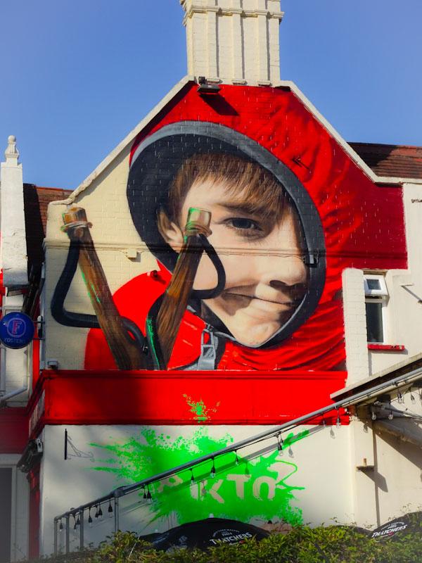 Pikto, North Street, Bristol, July 2021, Upfest 21
