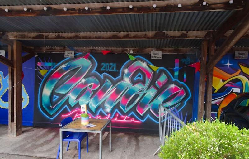Candie Bandita, Tobacco Factory, Bristol, June 2021, Upfest 2021