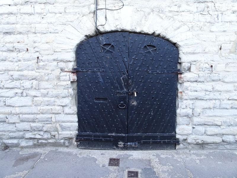 Old door, Lyme Regis, Dorset, July 2021