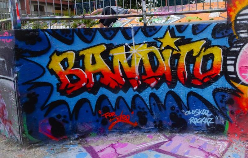 Bandito, Dean Lane, Bristol, July 2021