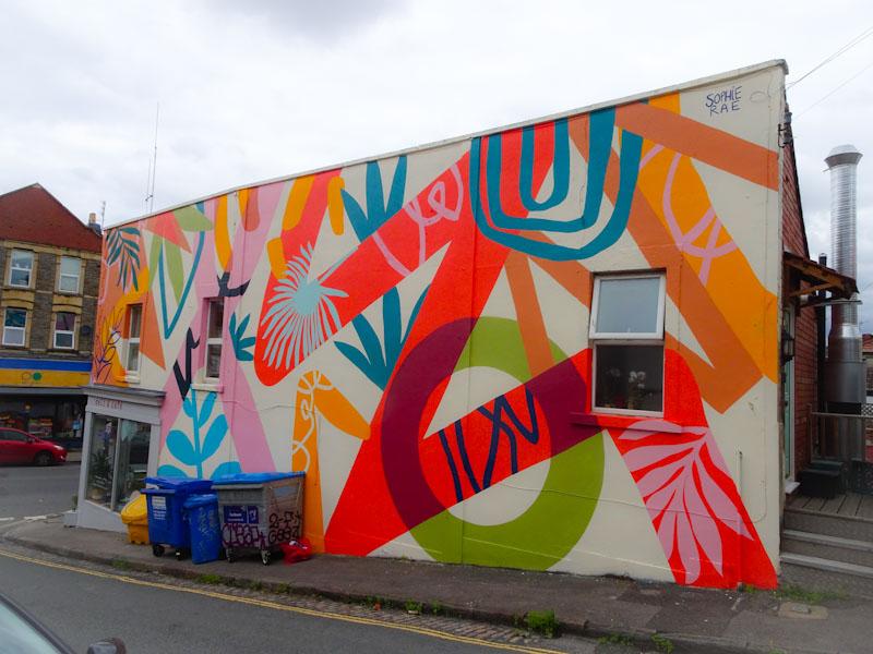 Sophie Rae, North Street, Bristol, July 2021, Upfest 21,