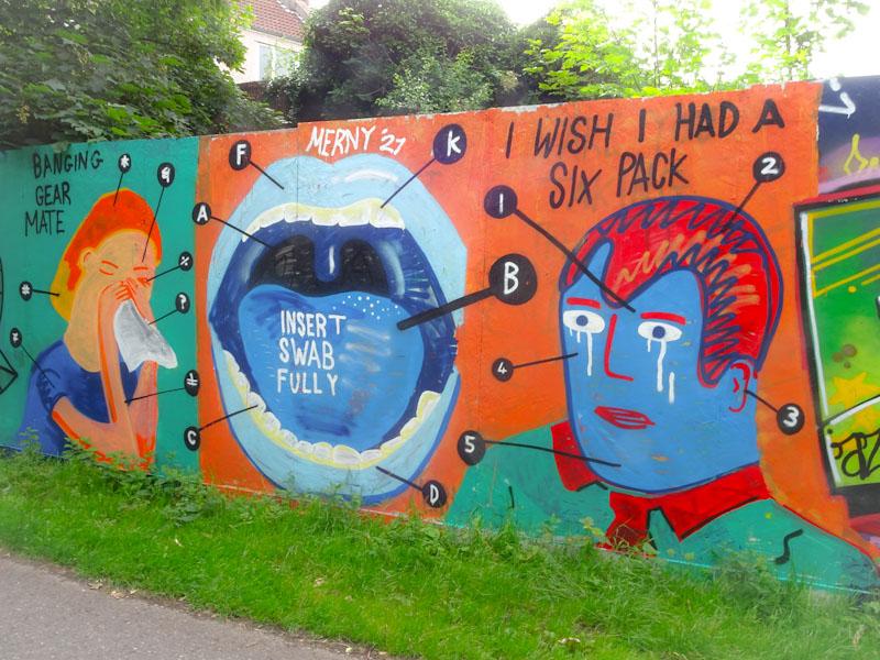 Merny, Greenbank, Bristol, July 2021