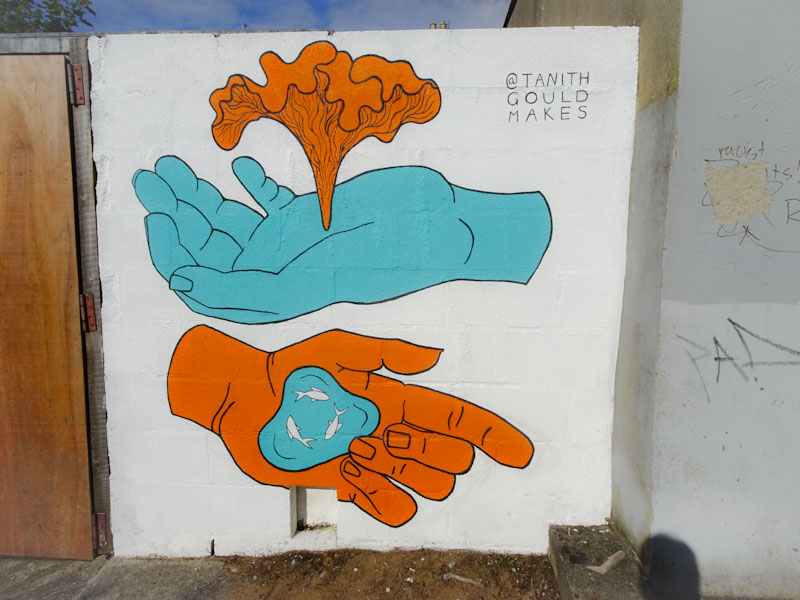 Tanith Gould, Muriel Alleyway, Bristol, July 2021