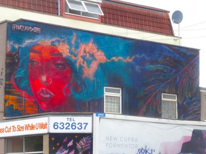 Hazard, North Street, Bristol, June 2021, Upfest 21