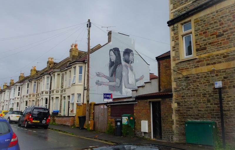 Caryn Koh, Exeter Road, Bristol, July 2021, Upfest 21