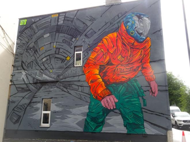 Snub 23, North Street, Bristol, July 2021, Upfest 21