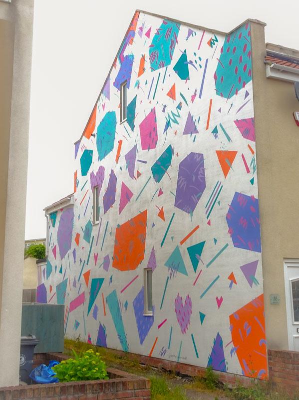 Emotional Waterfall Art, Smyth Road, Bristol, June 2021, Upfest 21