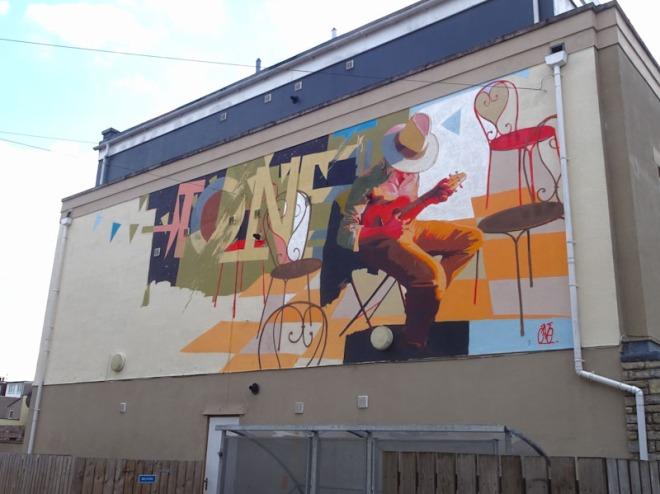 TEAone, West Street, Bristol, June 2021, Upfest21