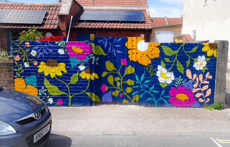 Natasha Kirby, Greville Road, Bristol, June 2021, Upfest 21