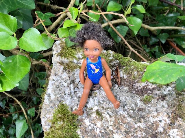Lost doll, Lantivet, Cornwall, August 2021