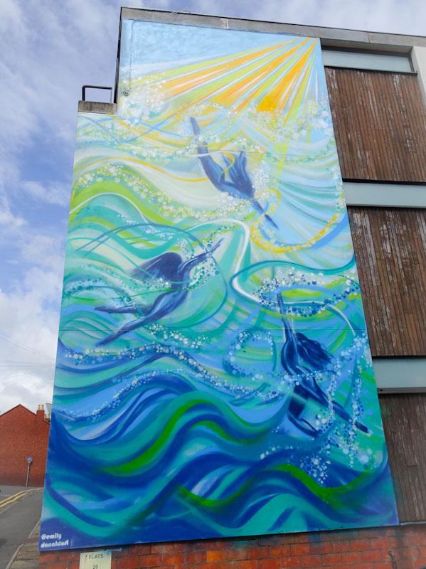 Emily Donald, West Street, Bristol, July 2021, Upfest 21