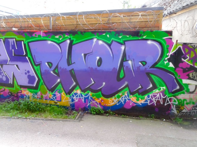 Phour, M32 cycle path, Bristol, August 2021