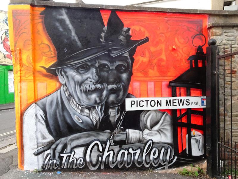 Kosc, Picton Mews, Bristol, August 2021