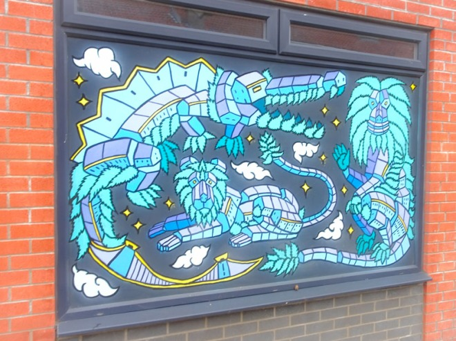Andy Council, Garnet Street, Bristol, July 2021