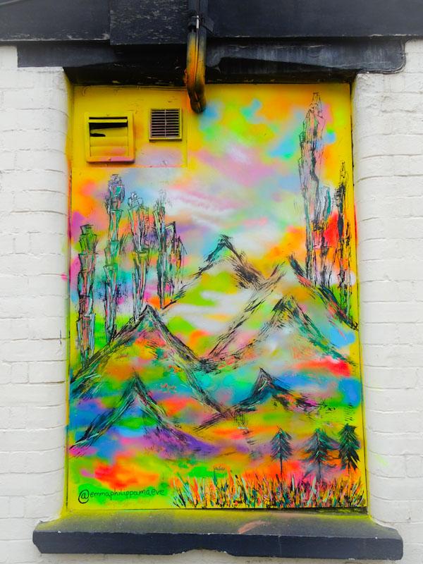 Emma Philippa Maeve, Merrywood Road, Bristol, August 2021, Upfest 21