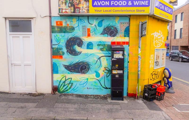 Bex Glover, North Street, Bristol, August 2021, Upfest 21