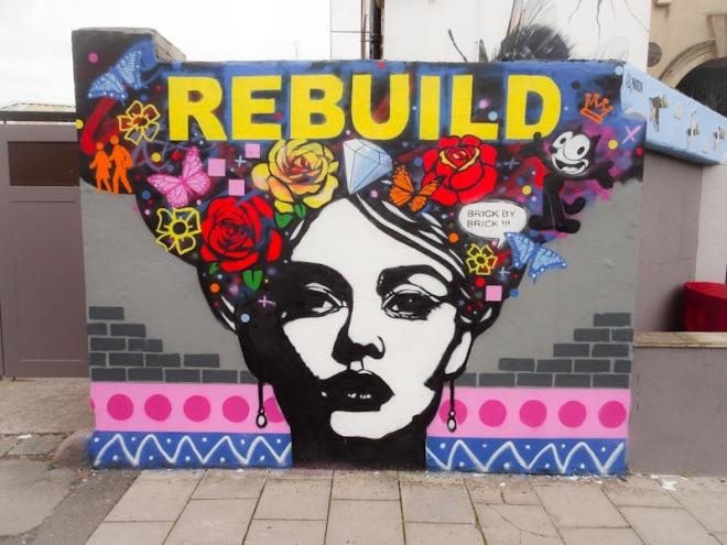 Copyright, Greville Road, Bristol, August 2021, Upfest 21