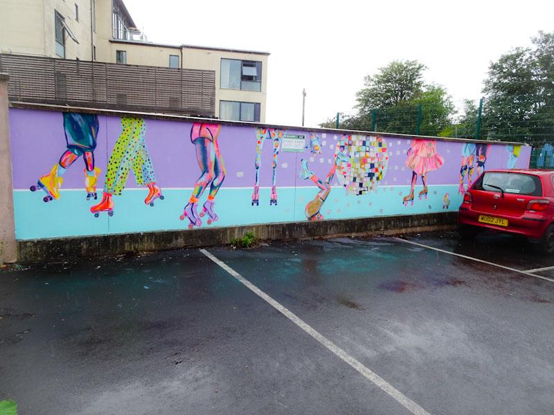 Georgie Webster, Myrtle Road, Bristol, July 2021, Upfest 21