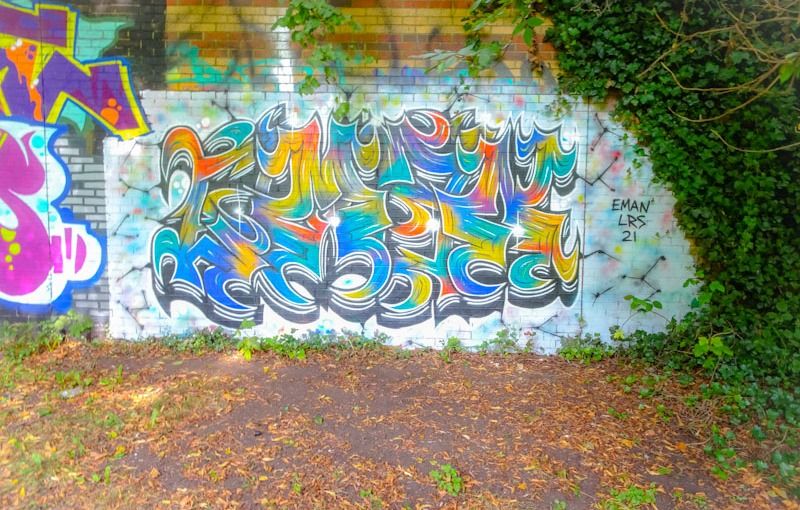 Eman, Sparke Evans Park, Bristol, September 2021