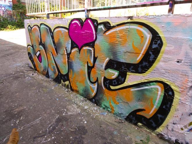 Bnie, Dean Lane, Bristol, September 2021