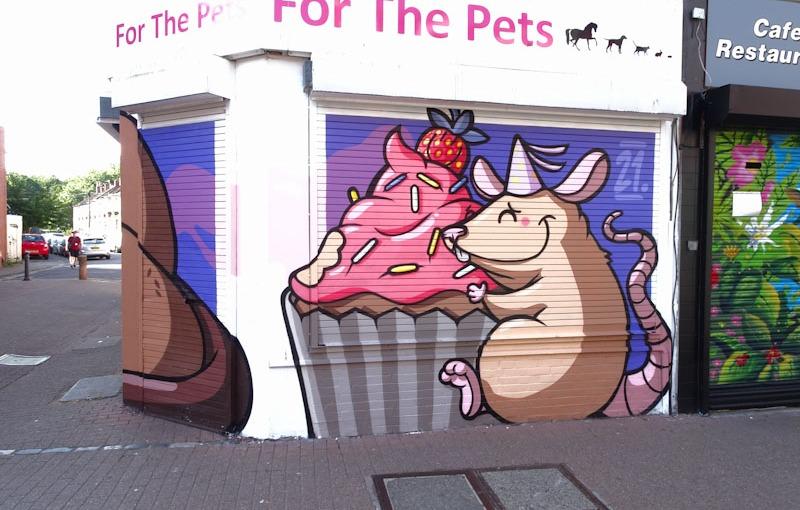 Roo, East Street, Bristol, July 2021, Upfest 21