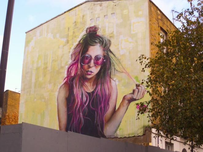 Irony, Camden Town, London, November 2017