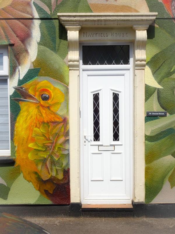 Curtis Hylton, Chessel Street, Bristol, August 2021, Upfest 21