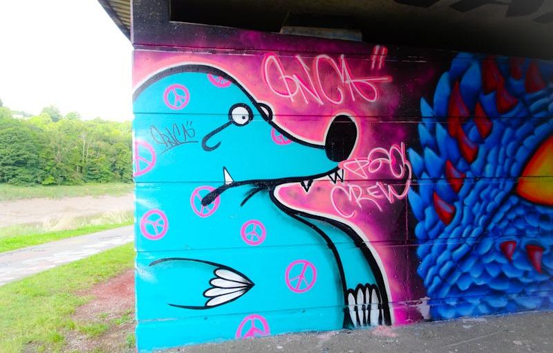 The Mole, Cumberland Basin, Bristol, August 2021