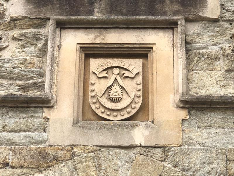 Cornwall Freemasons? Truro, Cornwall, August 2021