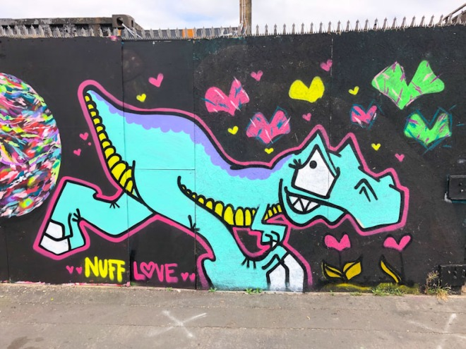 T-Rex, Alfred Street, Bristol, September 2021