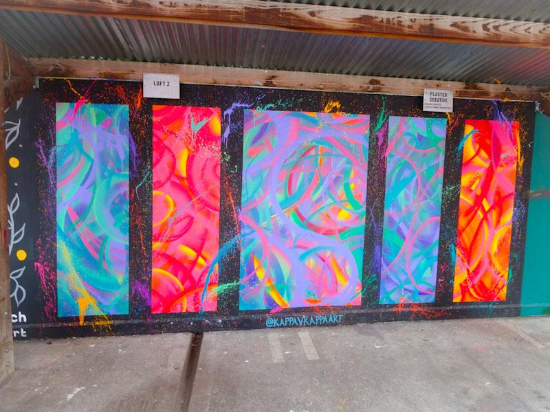 Kappa v Kappa Art, the Tobacco Factory, Bristol, July 2021, Upfest 21