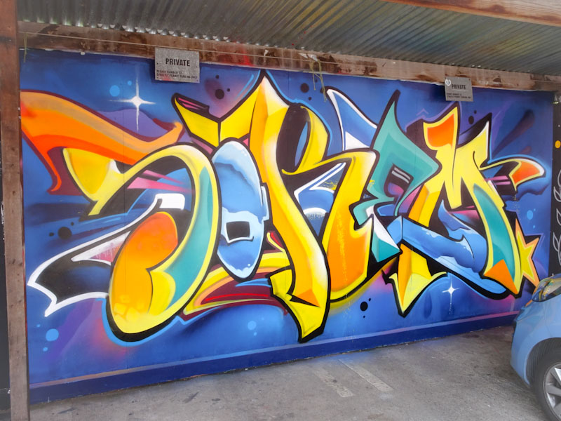 Soker, Raleigh Road, Bristol, July 2021, Upfest 21