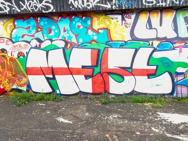 Mest, M32 Cycle path, Bristol, July 2021