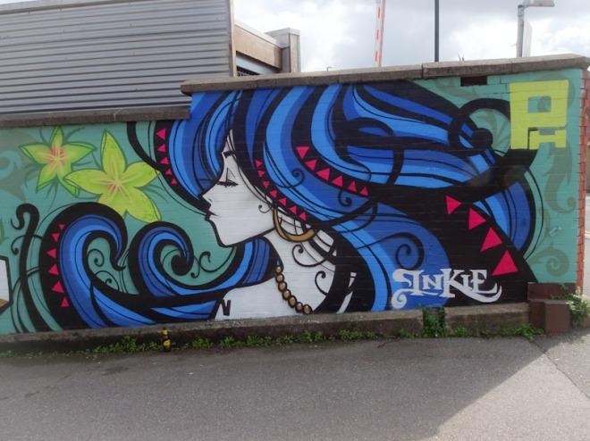Inkie, The Pump House, Bristol, August 2021