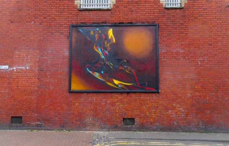 Ments, Dean Street, Bristol, September 2021, Upfest 21