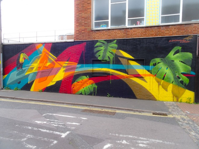 Zase, Dean Street, Bristol, August 2021, Upfest 21