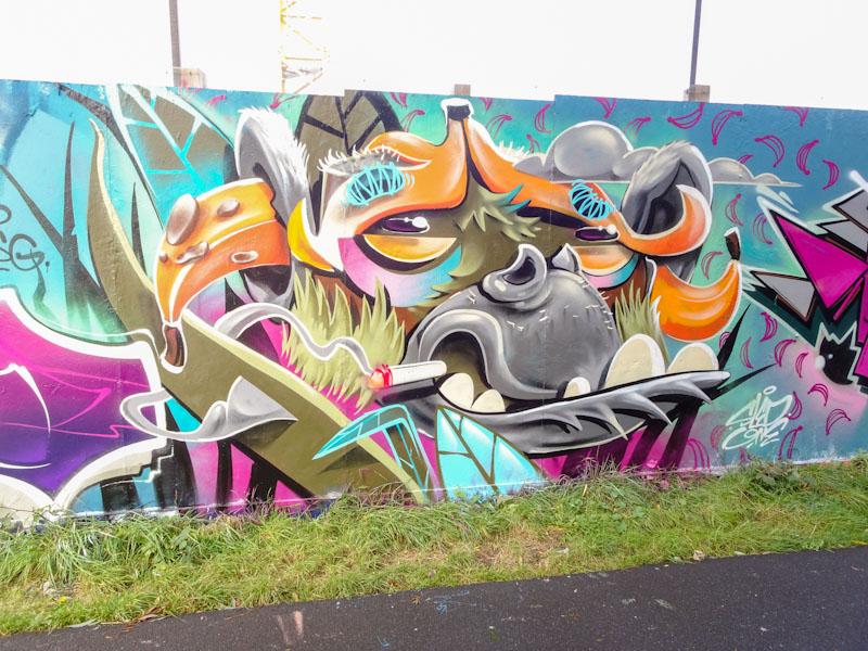 Sled One, Greenbank, Bristol, September 2021