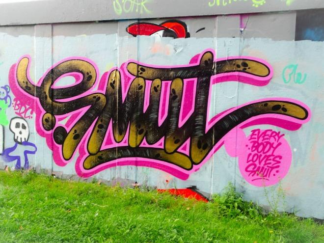 Smut, M32 roundabout, Bristol, September 2021