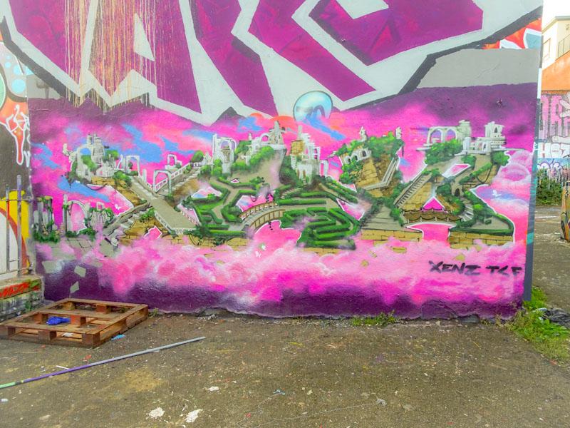 Xenz, Dean Lane, Bristol, October 2021