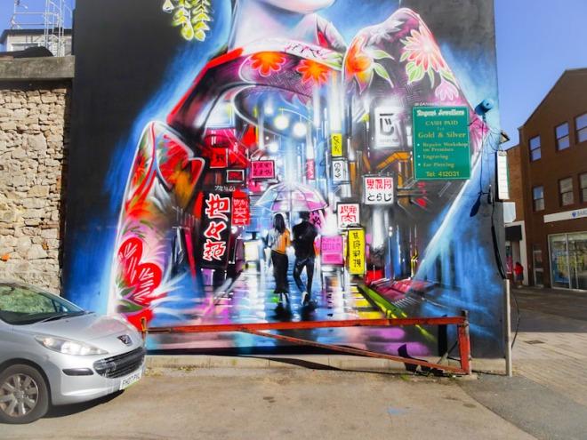 Dan Kitchener, Regent Street, Weston-super-Mare, September 2021
